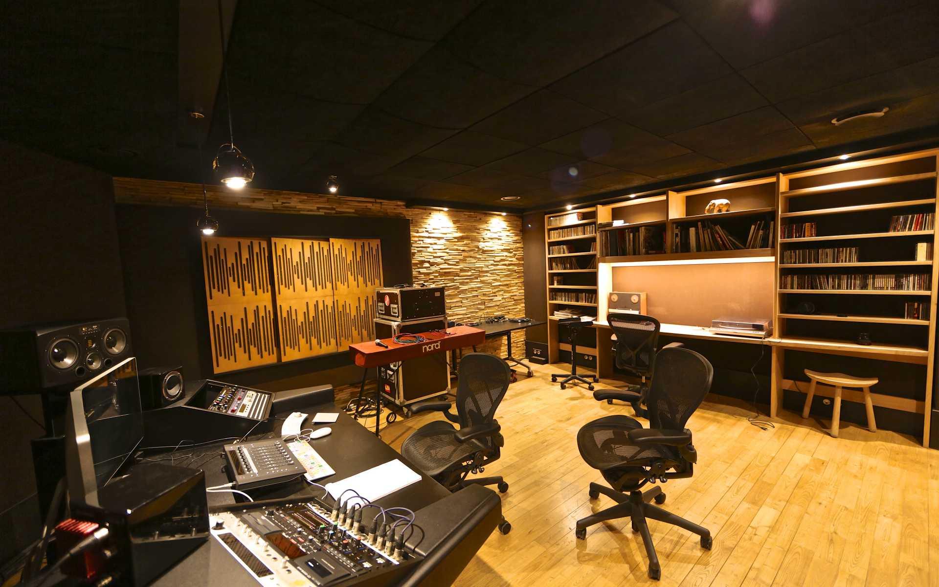 Nouveau ! Un studio d'enregistrement digital