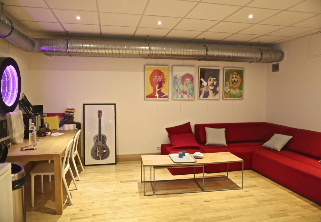 Montagenet - Accueil du studio son