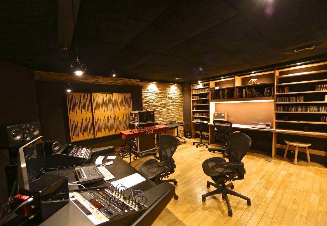 Montagenet - Régie du studio son