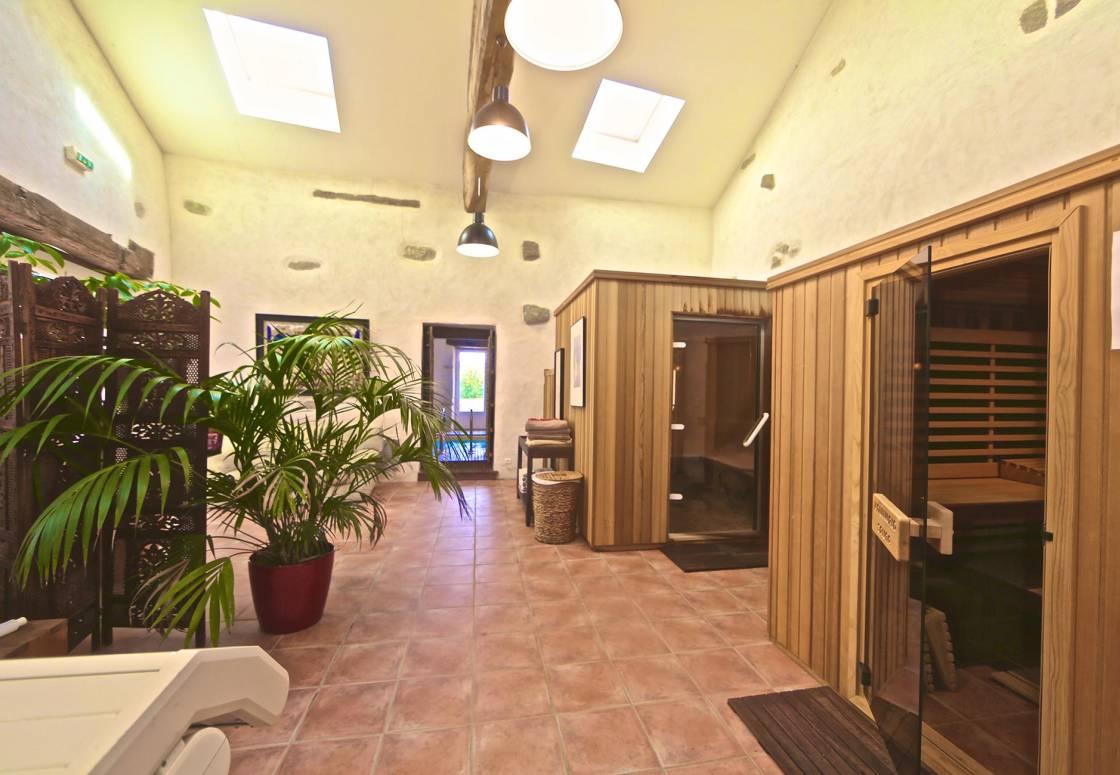 Espace bien-être (sauna, hammam)