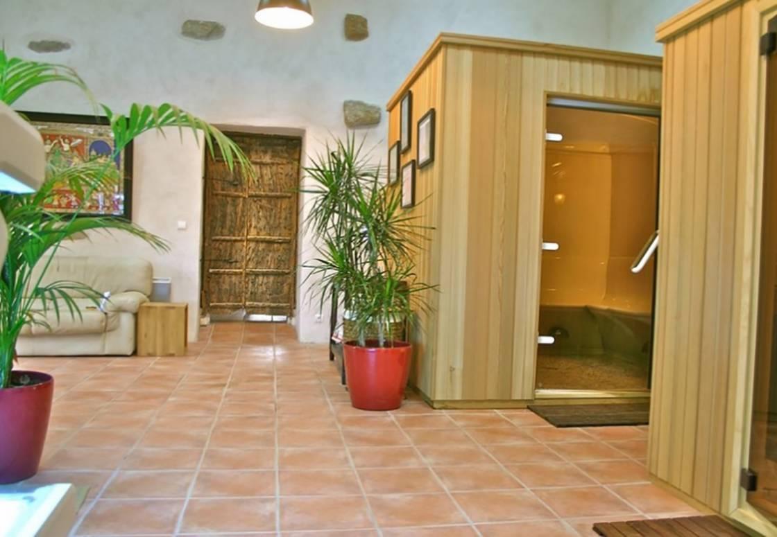 L'espace bien-être : sauna et hammam