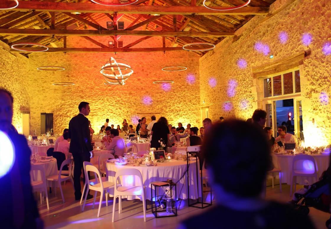Réception de mariage dans la Grande Salle