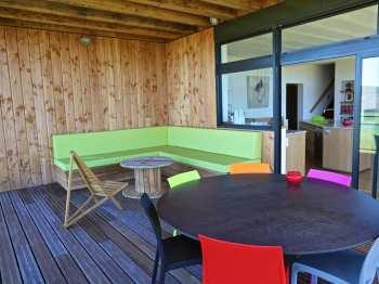 Lotus - Terrasse couverte du salon