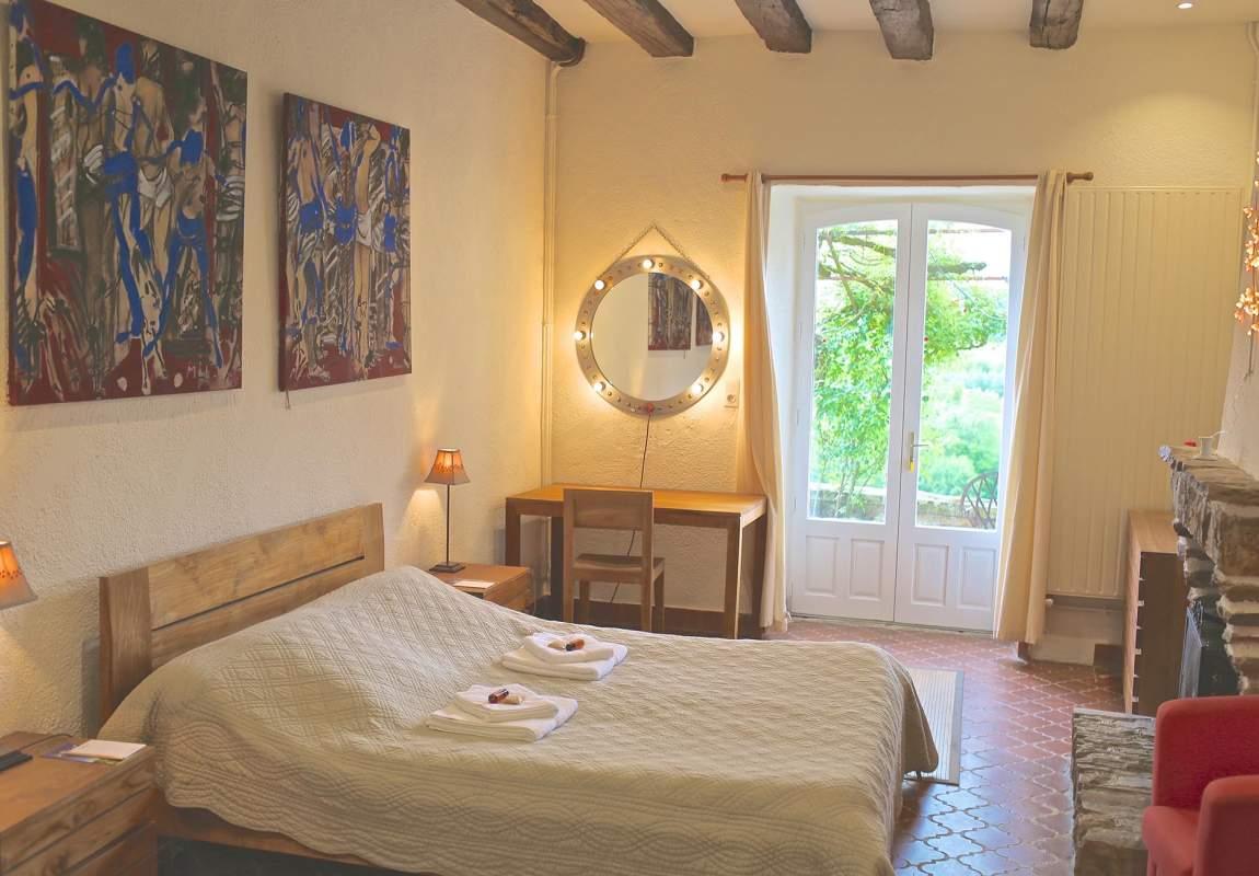 Chambre du gîte Acacia - 1 (RdC) en Dordogne Périgord