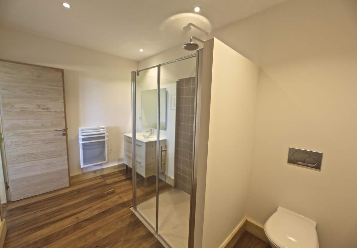 Salle de douche de la chambre 3 (R-1) - Lotus