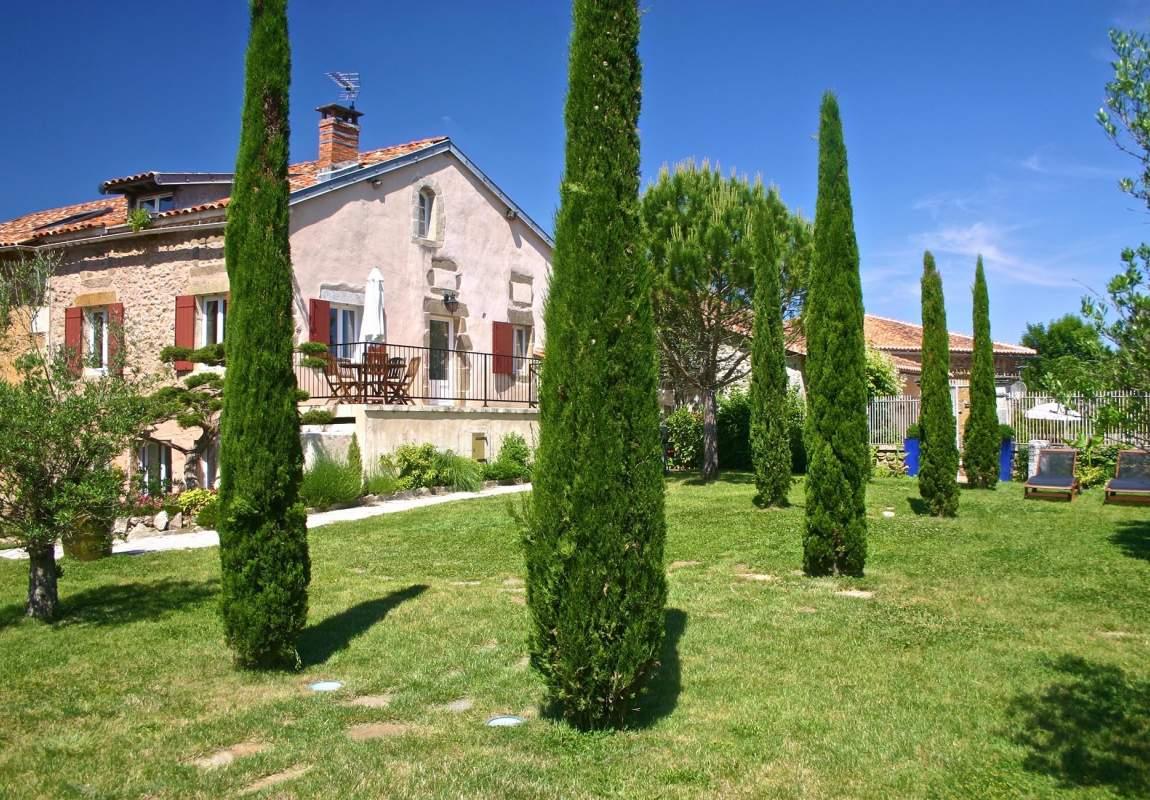 Vue depuis le Jardin toscan - Olivier
